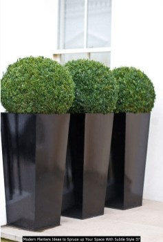 Modern Planters Ideas To Spruce Up Your Space With Subtle Style 37