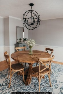 Perfect Small Dining Room Table Ideas For Limited Space 04
