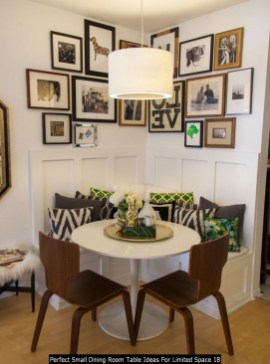 Perfect Small Dining Room Table Ideas For Limited Space 18