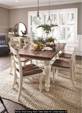 Perfect Small Dining Room Table Ideas For Limited Space 25