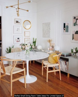 Perfect Small Dining Room Table Ideas For Limited Space 27