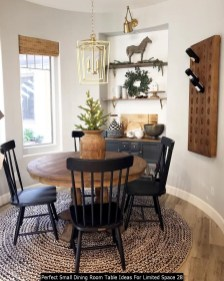 Perfect Small Dining Room Table Ideas For Limited Space 28