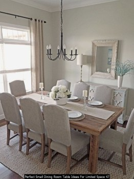 Perfect Small Dining Room Table Ideas For Limited Space 47