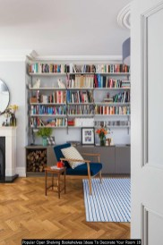 Popular Open Shelving Bookshelves Ideas To Decorate Your Room 18
