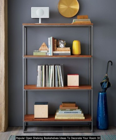 Popular Open Shelving Bookshelves Ideas To Decorate Your Room 32