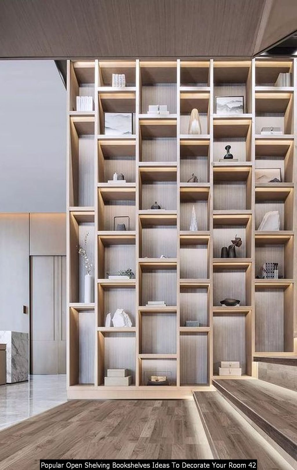 Popular Open Shelving Bookshelves Ideas To Decorate Your Room 42
