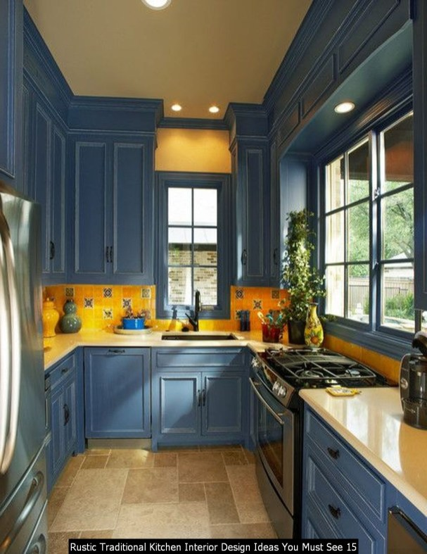 Rustic Traditional Kitchen Interior Design Ideas You Must See 15