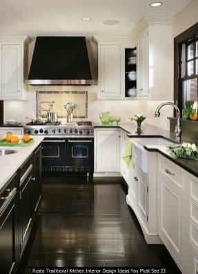 Rustic Traditional Kitchen Interior Design Ideas You Must See 23