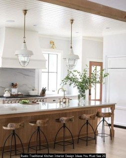 Rustic Traditional Kitchen Interior Design Ideas You Must See 25