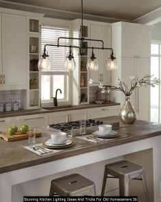 Stunning Kitchen Lighting Ideas And Tricks For Old Homeowners 36