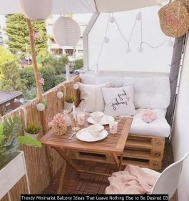 Trendy Minimalist Balcony Ideas That Leave Nothing Else To Be Desired 03