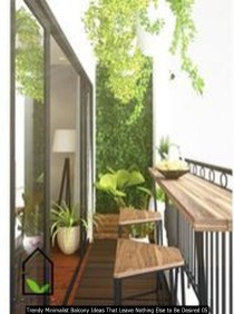 Trendy Minimalist Balcony Ideas That Leave Nothing Else To Be Desired 05