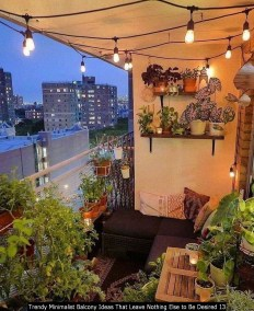 Trendy Minimalist Balcony Ideas That Leave Nothing Else To Be Desired 13