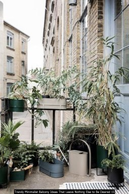 Trendy Minimalist Balcony Ideas That Leave Nothing Else To Be Desired 15