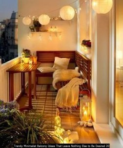 Trendy Minimalist Balcony Ideas That Leave Nothing Else To Be Desired 20