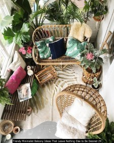 Trendy Minimalist Balcony Ideas That Leave Nothing Else To Be Desired 29
