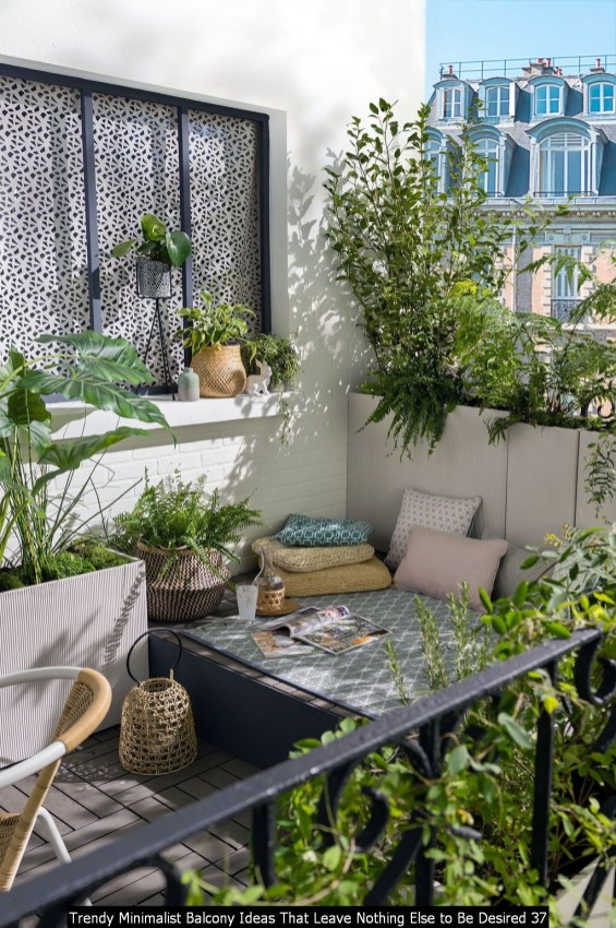 Trendy Minimalist Balcony Ideas That Leave Nothing Else To Be Desired 37
