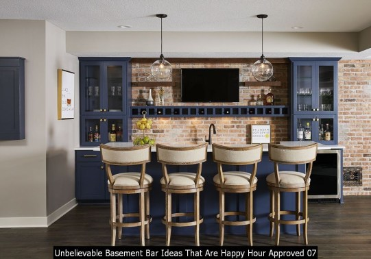 Unbelievable Basement Bar Ideas That Are Happy Hour Approved 07