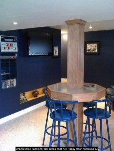 Unbelievable Basement Bar Ideas That Are Happy Hour Approved 12