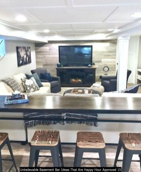 Unbelievable Basement Bar Ideas That Are Happy Hour Approved 15