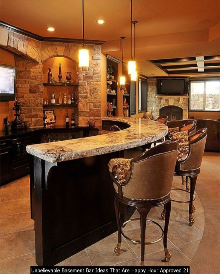 Unbelievable Basement Bar Ideas That Are Happy Hour Approved 21