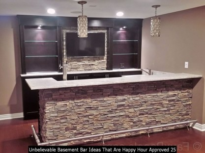 Unbelievable Basement Bar Ideas That Are Happy Hour Approved 25