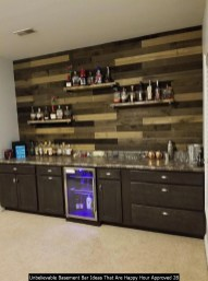 Unbelievable Basement Bar Ideas That Are Happy Hour Approved 28