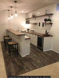 Unbelievable Basement Bar Ideas That Are Happy Hour Approved 38