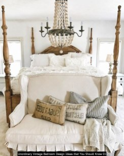 Unordinary Vintage Bedroom Design Ideas That You Should Know 01