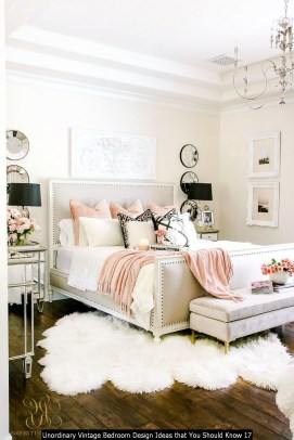 Unordinary Vintage Bedroom Design Ideas That You Should Know 17
