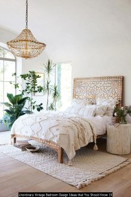 Unordinary Vintage Bedroom Design Ideas That You Should Know 19