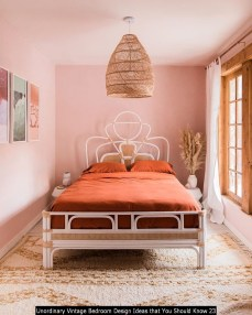 Unordinary Vintage Bedroom Design Ideas That You Should Know 23