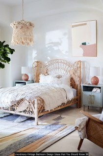 Unordinary Vintage Bedroom Design Ideas That You Should Know 38