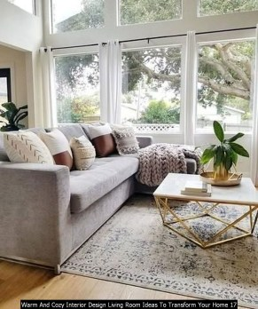 Warm And Cozy Interior Design Living Room Ideas To Transform Your Home 17