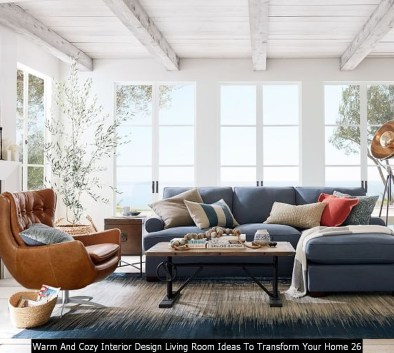 Warm And Cozy Interior Design Living Room Ideas To Transform Your Home 26