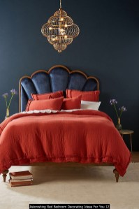 Astonishing Red Bedroom Decorating Ideas For You 12