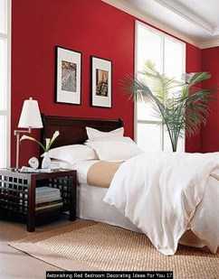 Astonishing Red Bedroom Decorating Ideas For You 17