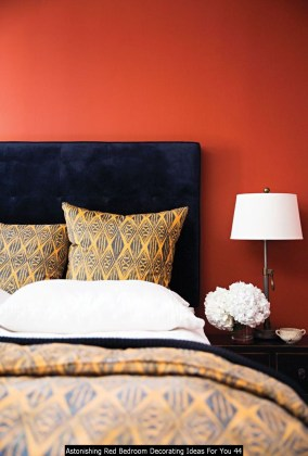 Astonishing Red Bedroom Decorating Ideas For You 44