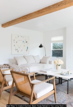 Best Ways To Create A Summer Beach House Retreat In Your Living Room 17