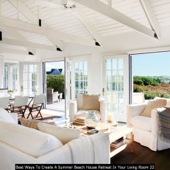 Best Ways To Create A Summer Beach House Retreat In Your Living Room 22