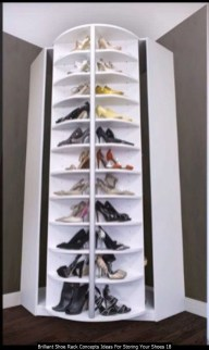 Brilliant Shoe Rack Concepts Ideas For Storing Your Shoes 18