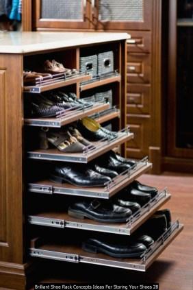 Brilliant Shoe Rack Concepts Ideas For Storing Your Shoes 28