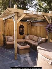 Captivating Backyard Pergola Ideas For Your Inspiration 03