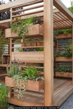 Captivating Backyard Pergola Ideas For Your Inspiration 08