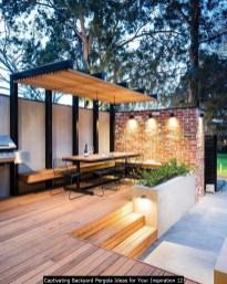 Captivating Backyard Pergola Ideas For Your Inspiration 12