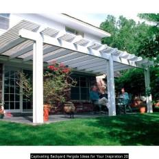 Captivating Backyard Pergola Ideas For Your Inspiration 20