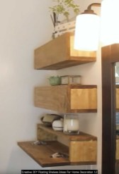 Creative DIY Floating Shelves Ideas For Home Decoration 12