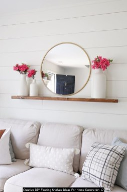 Creative DIY Floating Shelves Ideas For Home Decoration 17