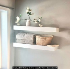 Creative DIY Floating Shelves Ideas For Home Decoration 29