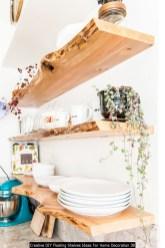 Creative DIY Floating Shelves Ideas For Home Decoration 38
